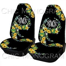sunflower car seat covers sunflowers