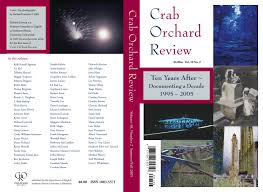 Crab Orchard Review Vol 10 No 2 S/F 2005 by Crab Orchard Review - issuu