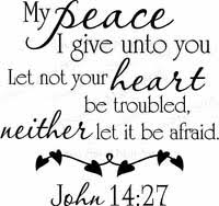 Christian Quotes On Peace Best of Religious Wall Quotes Christian Vinyl Wall Quotes Wall Decals