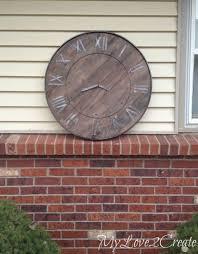 pottery barn inspired clock diy pottery barn s