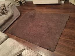 super soft large dunelm teddy bear rug