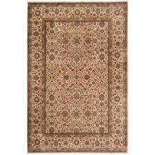safavieh persian garden ivory 4 ft x 6 ft area rug