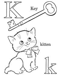 Pre K Coloring Worksheets alphabet coloring pages letter k free ...