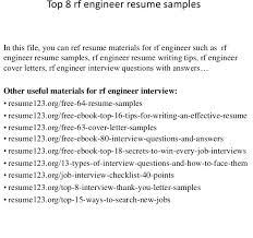Rf Test Engineer Sample Resume Cool Shining Rf Test Engineer Sample Resume Charming Ideas Top 40 Samples