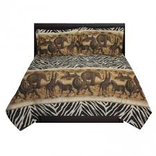 africa safari comforter sham set