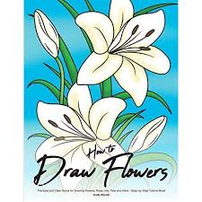 how to draw flowers the easy and clear