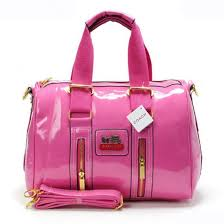 Coach Smooth Medium Pink Luggage Bags 21655