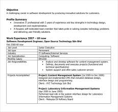 11+ Software Developer Resumes | Sample Templates