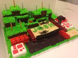 Creeper Cake Design Minecraft Cake Enderman Creeper Cake Minecraft Cake
