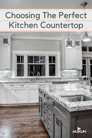 Choosing Kitchen Countertops Things You Should Know Modern