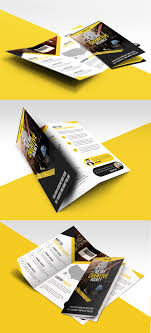 Multipurpose Trifold Business Brochure Free Psd Template Uxfree Com