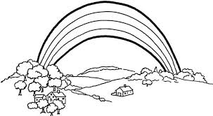 Small Picture Bright Idea Rainbow Coloring Page Free Printable Rainbow Coloring