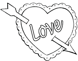 Coloring Pages Of A Heart Coloring Page Heart Color Pages Heart