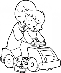 Caillou Coloring Pages Caillou Coloring Pages Coloring Pages Horses