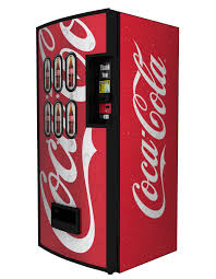 Coke A Cola Vending Machine