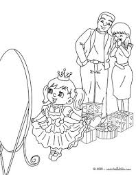 Small Picture Girl fancy dress gift coloring pages Hellokidscom