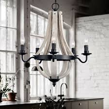 Black rustic chandelier Vintage Rustic Chandelier Reclaimed Wood And Black Metal Wine Barrel Stave Ceiling Light Ebay Ebay Rustic Chandelier Reclaimed Wood And Black Metal Wine Barrel Stave