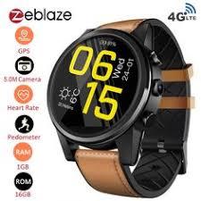 Zeblaze THOR 4 PRO 4G <b>Smart Watch</b> Phone 1.6 inch Crystal ...