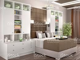 Helle Und Gemütliche Moderne Schlafzimmer Mit Schränken An Den