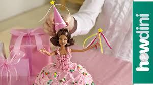 Birthday Cake Ideas How To Make A Princess Doll Birthday Cake Youtube