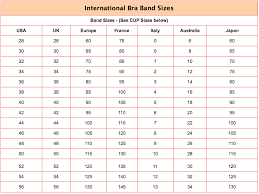 Bra Size Chart G Bra Size Calculator Bra Size Converter Conversion Chart