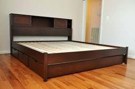 king platform bed frame with storage. Interesting With King Size Platform Bed With Drawers Frame  Storage Large Of Frames  For