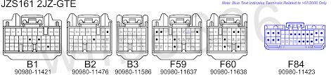 jz vvti ecu wiring harness jz wiring diagrams posted