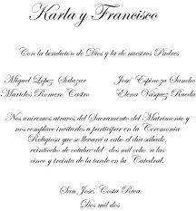 Redacccion Y Formato De Boda Texto Invitaciones De Boda
