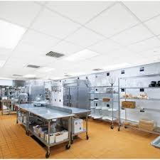 Restaurant kitchen Ceiling Kitchen Zone room Scene The Boston Globe Commercial Kitchen Ceiling Armstrong Ceiling Solutions Commercial