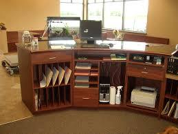 reception desk more ideas for storage
