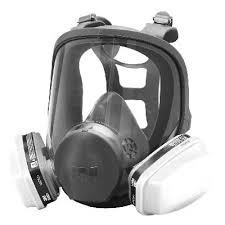 more views 3m 6000 series full face paint spray pesticide respirator