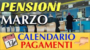 PAGAMENTO PENSIONI MARZO 👉 Ecco IL CALENDARIO SCAGLIONATO PER COGNOMI 📅 -  YouTube