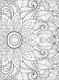 Adult Coloring Pages Flowers 2 2 Coloring Pages Pinterest