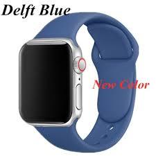 Generic <b>Silicone Strap</b> Bracelet Watchband For <b>Apple</b> Watch 6 5 4 3 ...