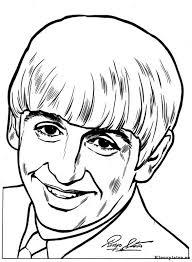 Beatles Lachen Kleurplaat