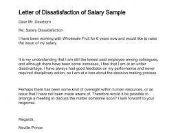 letter expressing concern letter of dissatisfaction