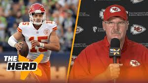andy reid wife. andy reid discusses patrick mahomes one day replacing alex smith, more   the herd (full interview) wife