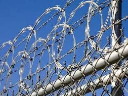 Barbed Wire Fence with Razor Wire Chain Link for High Security