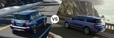 2019 Nissan Armada Vs Ford Expedition Premier Nissan Of