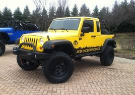 wrangler pickup is a go jeep to offer jk 8 conversion kit for the wrangler unlimited