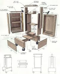 mobile drill press stand plans