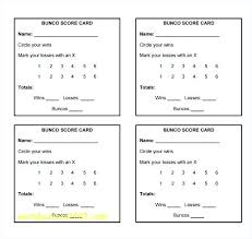 Bunco Score Sheets Template Amazing Free Bunco Score Sheets Printable Cards In Source Scorecard Template