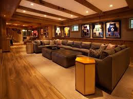 game room lighting ideas. contemporary game room with pendant light three posts charlotte leather ottoman wainscoting exposed lighting ideas