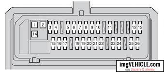 toyota corolla x fuse box diagrams schemes vehicle com toyota corolla x fuse box driver s side instrument panel