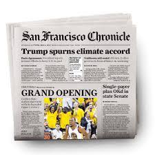 Newspaper Warriors 244 NBA Finals Game 244 Newspaper 24424244 San Francisco 3