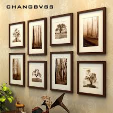 picture frames on wall simple. Simple Wooden Photo Wall Frame Background Wedding Picture Frames Family Hanging Black On
