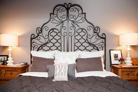 wrought iron bedroom furniture. Wrought Iron Headboard King For Modern Throughout Renovation Bedroom Furniture