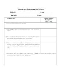 Sample Common Core Lesson Plan Delectable 48th Grade Math Lesson Plans Bladencommunitycollegeorg