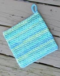 Free Crochet Potholder Patterns Delectable Free Potholder Crochet Pattern Urban Kitchen Potholder Crochet Pot