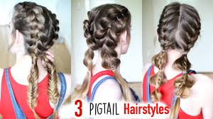 Pigtails Hair Style 3 Braided Pigtail Hairstyles Pigtail Hairstyles 8974 by wearticles.com